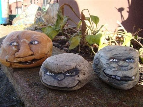 Painting Rocks For Garden Painted Rock Creatures For The Garden Painted Rock Faces