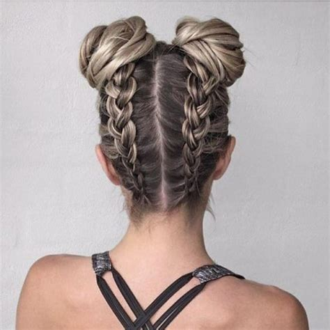 Hairstyles Buns For School by Best 25 Easy School Hairstyles Ideas On Lazy