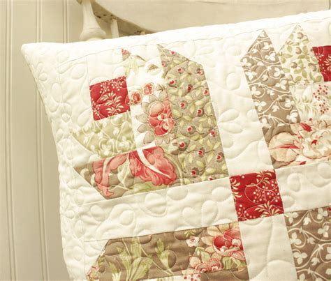 Quilted Pillow Covers by Tapestry Quilted Pillow Cover Ready To Ship By Cottonberryquilts