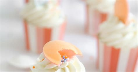 peachy criminals sweet bakery books peachy orange marmalade cupcakes sprinkle bakes