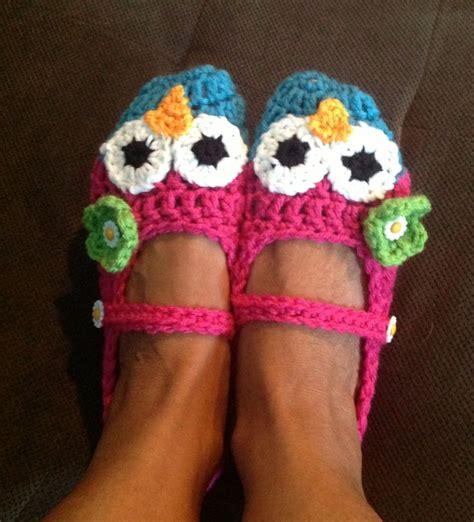 crochet owl slippers 23 best owl slippers images on crochet owls