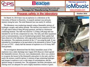 october 2016 ccps process safety beacon process safety in