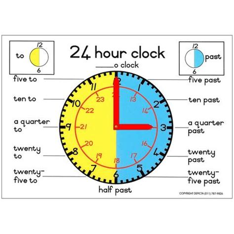 printable 24 hour clock chart 24 hour chart images