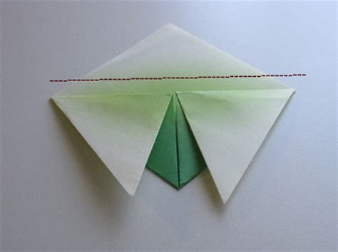 Origami Cicada - origami cicada