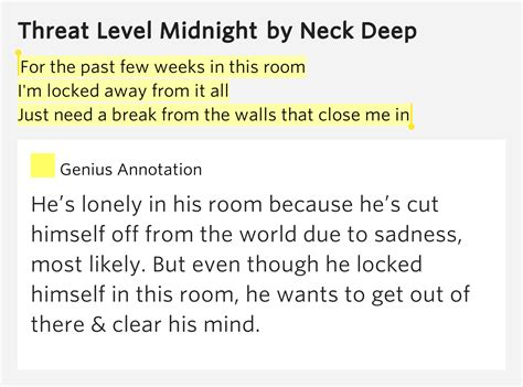 lonely room lyrics for the past few weeks in this room i m locked away from it all just need a from the