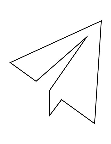 coloring pages of paper airplanes free printable airplane coloring pages for preschoolers