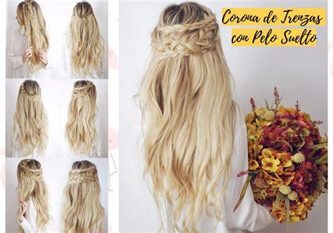 peinados con trenzas pelo suelto paso a paso www peinados sencillos con pelo suelto peinados lindos y faciles