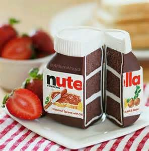 nutella party mommo design