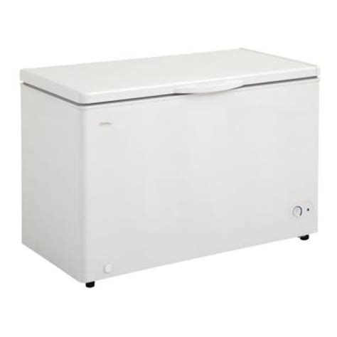 danby 10 2 cu ft chest freezer in white discontinued