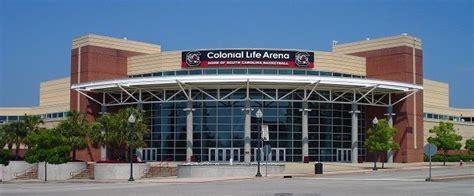 colonial life arena event calendar columbia