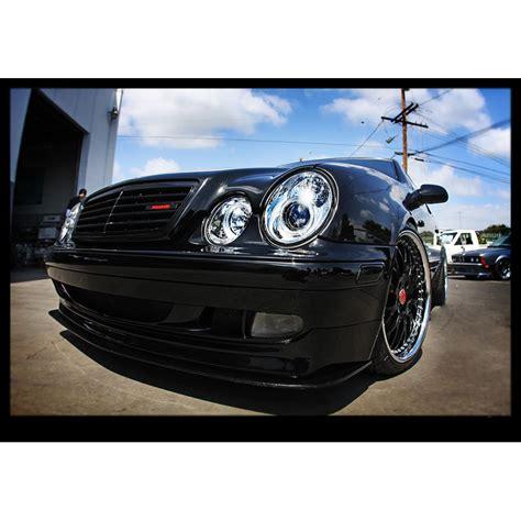 headlights mercedes 98 02 mercedes clk class w208 eye halo