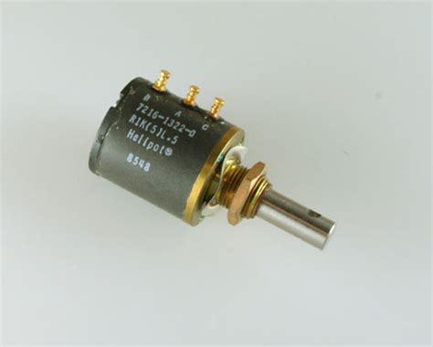 beckman resistor pack 7216 1322 0 beckman potentiometer 1 kohm multiturn 2022003324