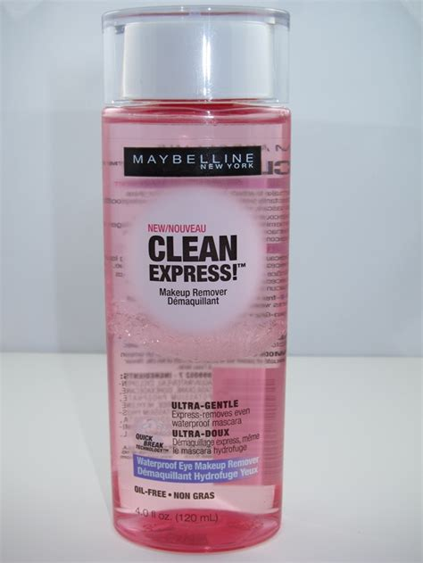 Maybelline Remover maybelline clean express waterproof eye makeup remover