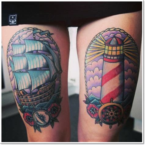 front thigh tattoos 28 fabulous leg tattoos