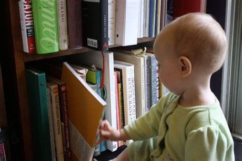 how to baby proof a bookshelf