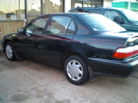 1996 Toyota Corolla Dx 1996 Toyota Corolla Dx Pictures Picture Of 1996 Toyota