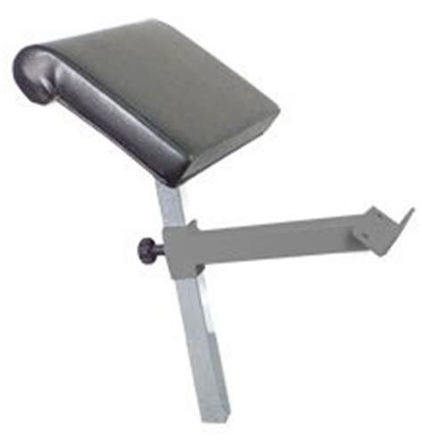 preacher curl bench attachment bodycraft preacher curl attachment for f320 and f602 bench