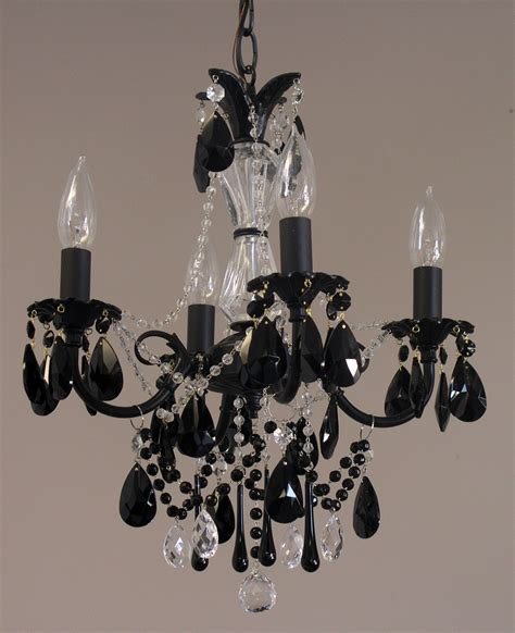 Black Mini Chandelier Mini Black Chandeliers Chandelier
