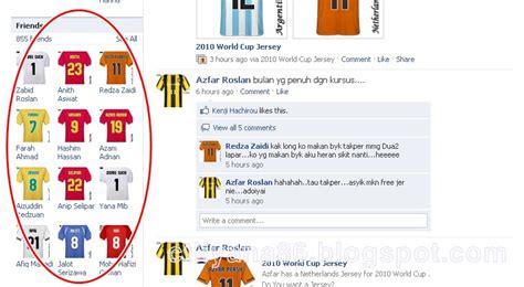 link membuat jersey world cup facebook dan zionis life 101