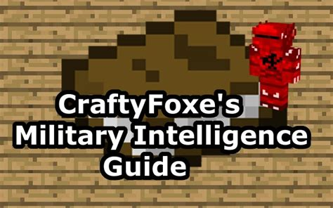 craftyfoxe s intelligence guide of pmc minecraft craftyfoxe s intelligence guide of pmc minecraft