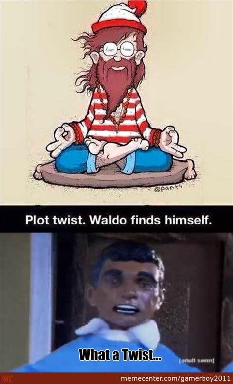 What A Twist Meme - plot twist by gamerboy2011 meme center