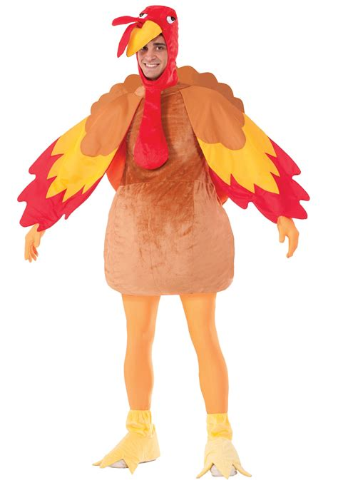 turkey costume deluxe turkey costume