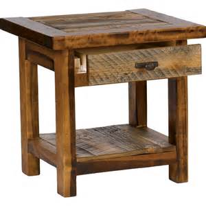 Rustic End Tables Steinhospice