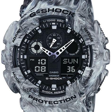 Casio Original G Shock Ga 100mm 8agshock Ga 100mm 8aga100mm 8a casio g shock herrenuhr ga 100mm 8aer marble camouflage