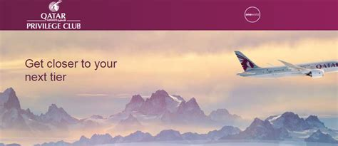 Offer Letter Qatar Airways qatar airways privileges club targeted up to 200 qpoints