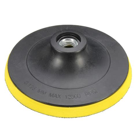 2 Pcs M16 Rotary Backing Plate 6 Inch Foam Pad Green Black 125mm backing pad hook and loop pad for sanding sale banggood