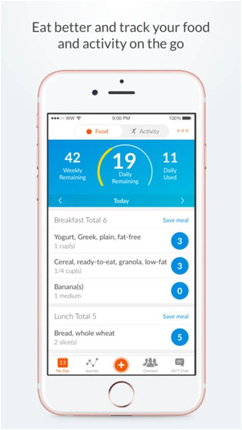 weight watchers mobile app for android weight watchers 5 1 2 ios apps filedir