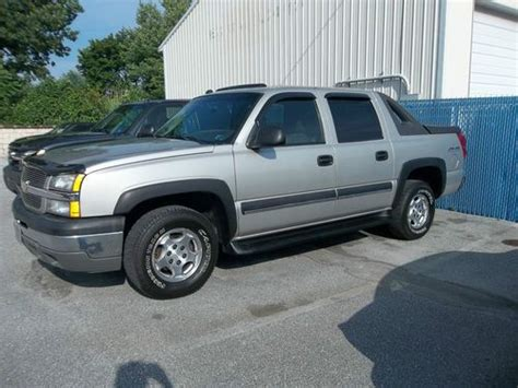 vehicle repair manual 2004 chevrolet avalanche 1500 parental controls service manual how to fix cars 2004 chevrolet avalanche 1500 regenerative braking sell used