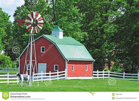 New England Farmhouse Plans farm house in the usa royalty free stock photography