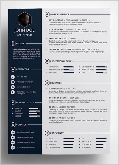 Free Graphic Resume Templates by Free Graphic Resume Templates Word Resume Resume