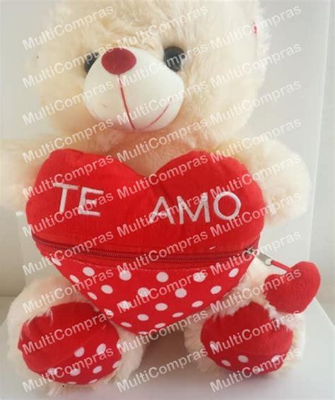 imagenes de amor y amistad te amo peluche oso rosa o rojo corazon te amo amor amistad regalo
