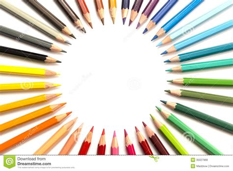 color picture colour pencils royalty free stock photos image 35027968