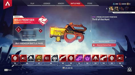 apex legends battle pass overview  skins included