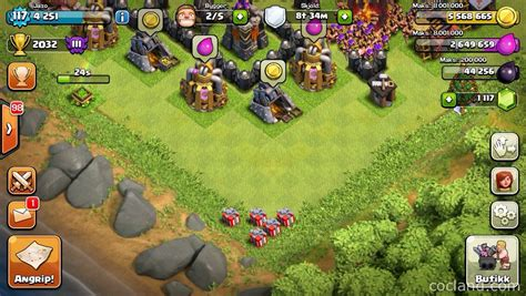 coc christmas layout clash of clans xmas update clash of clans land