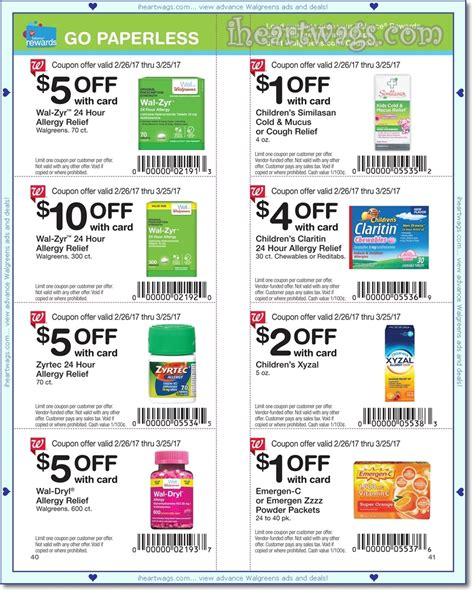 walgreens contact coupon i wags ad scans march 2017