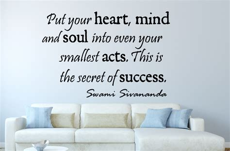 to put pictures on walls swami sivananda put your inspirational wall decal