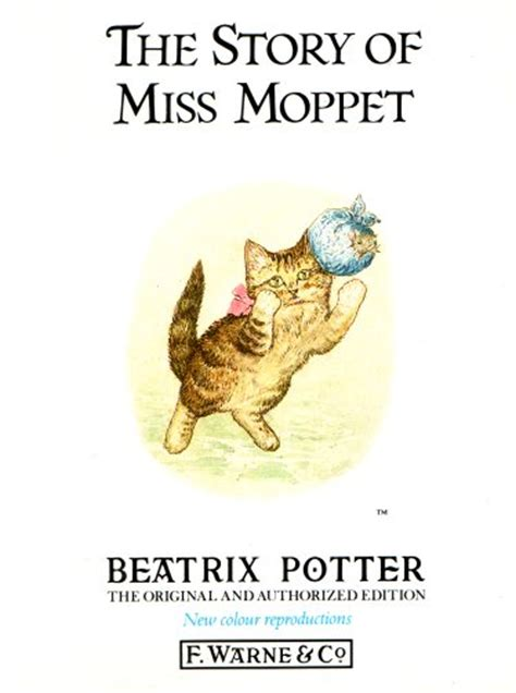 the story of the story of miss moppet