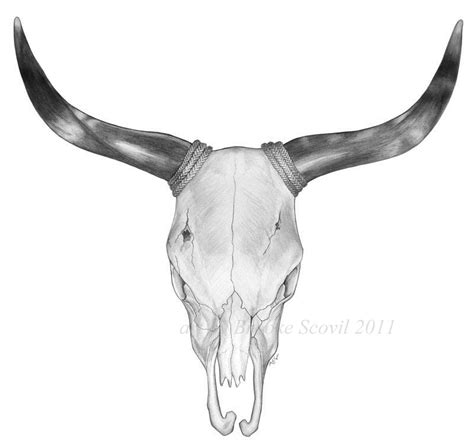 bull skull tattoo designs commission bull skull by birdofyore on deviantart