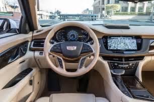 Upholstery Class Los Angeles 2016 Cadillac Ct6 Attention German Luxury Sedan Buyers