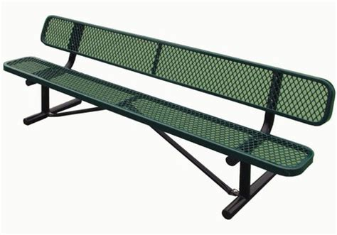 tennis court bench 8 jordan bench commercial site furnishings