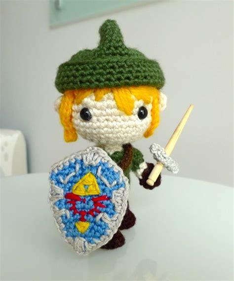 crochet pattern zelda link amigurumi sprite stitch