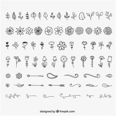 most popular doodle 25 best ideas about flower design drawing on