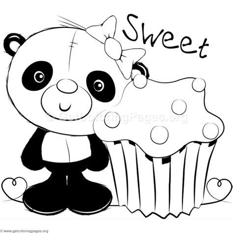 panda coloring page pdf cute panda coloring pages getcoloringpages org