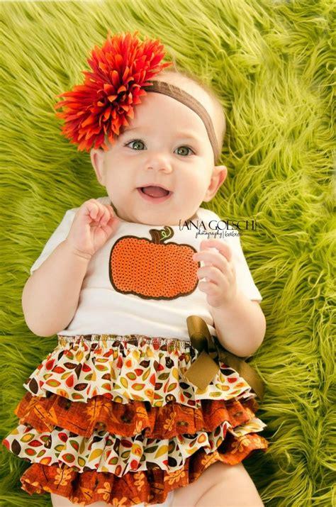 Fall harvest thanksgiving 4 tier ruffle baby dress baby girl ruffle dress onesie ruffle
