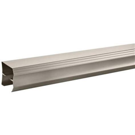 Sliding Shower Door Track Delta 48 In To 60 In Traditional Sliding Shower Door Track Assembly Kit In Nickel Step 2