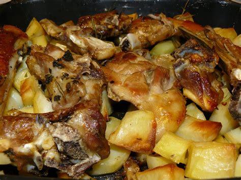 testa di agnello al forno agnello al forno con patate cetraro in rete